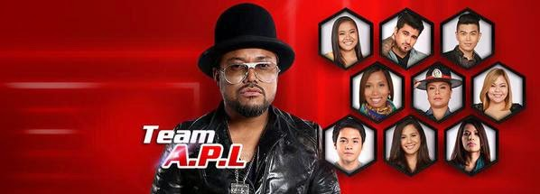 'The Voice PH' Team Apl Knockout Round Results (January 10, 2015)