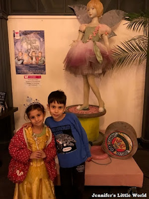 Children at the pantomime in Worthing