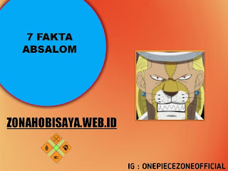 Fakta Absalom One Piece