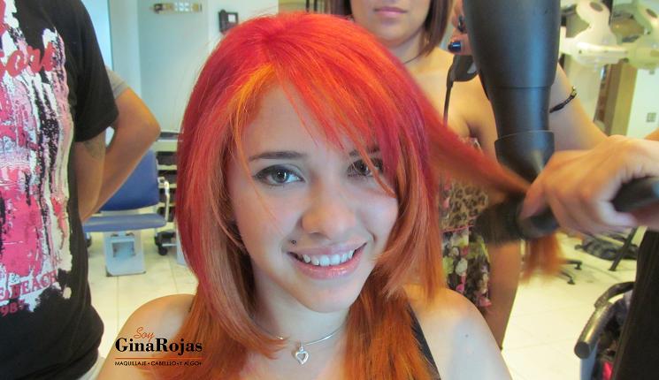 color fantasía para el cabello