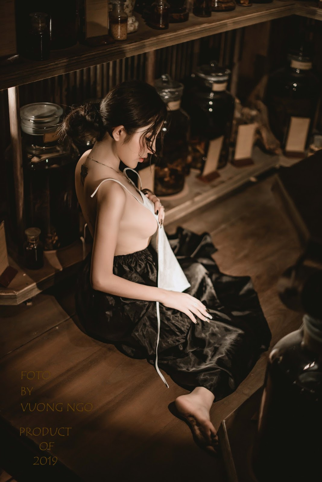 Vào hầm rượu không biết say rượu hay say em @BaoBua: Việt Nam Sexy Girl