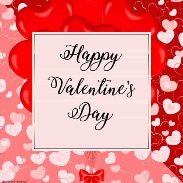 valentine day wishes card