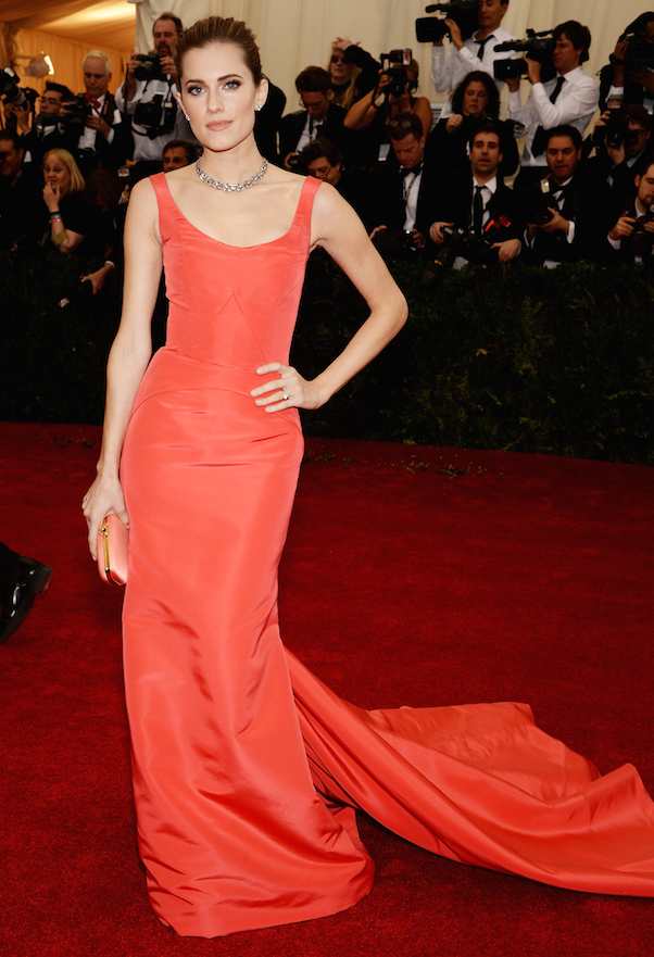 Allison Williams Met Gala 2014