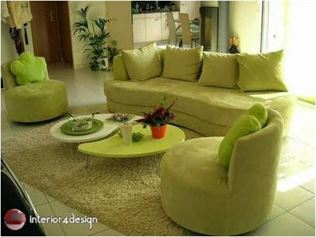Green Color In Details Of Interior Designs 7