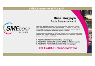 SME Corporation Jawatan Kosong