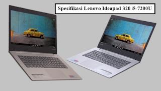 Spesifikasi Lenovo Ideapad 320 i5-7200U