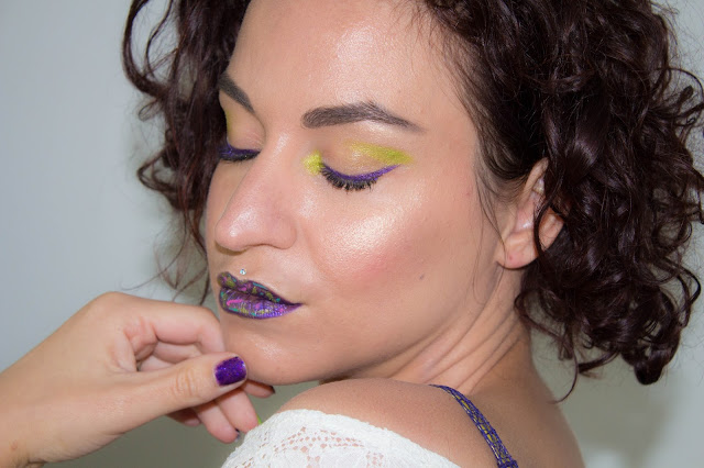 Purple, Lime & Glow 💕 | MSC