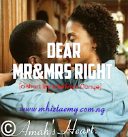 Dear Mr&mrs Right- Final Episode
