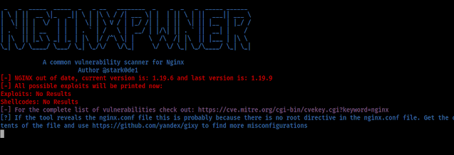 Nginxpwner –  Tool to look for common Nginx misconfigurations and vulnerabilities