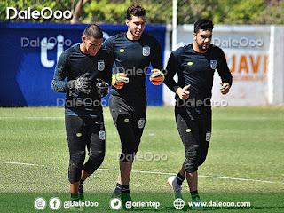 Bruno Rivas, Rodrigo Banegas y Diego Zamora buscarán ser el reemplazante de Guillermo Viscarra en el arco de Oriente Petrolero - DaleOoo