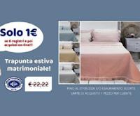 Logo Promozioni Unigross : trapunta estiva a solo 1 euro ! fino ad esaurimento scorte