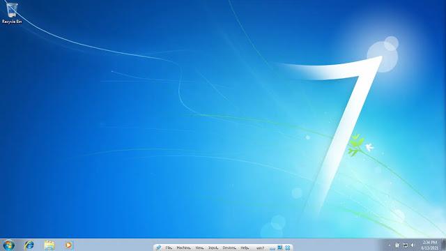 Responsive Full Screen Windows VirtualBox