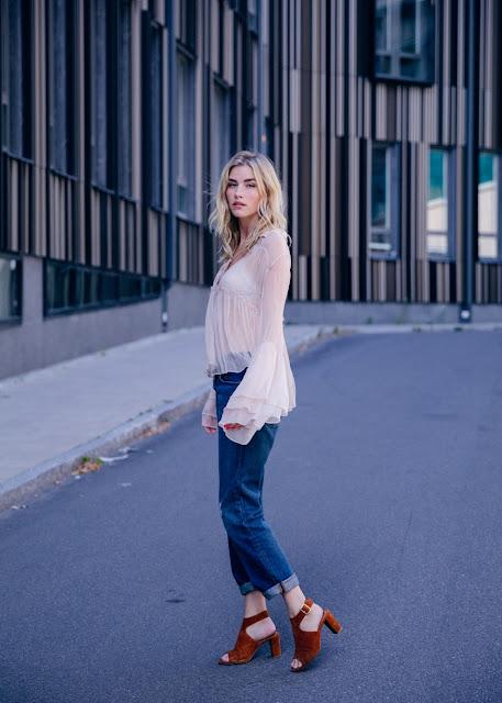 Elsa Ekman zapatos tipo mule de terciopelo #velvet | mamayfashionista.blogspot.com