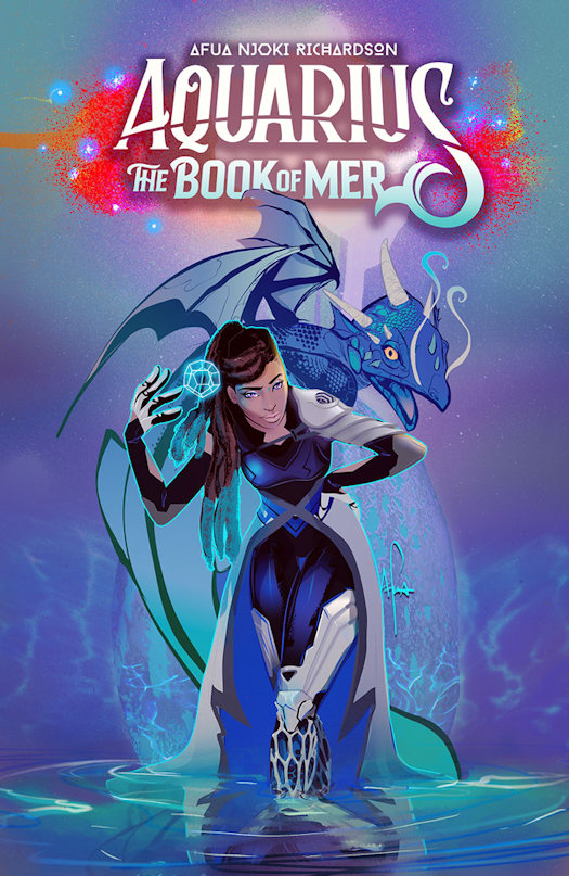 Afua Richardson's Aquarius: The Book of Mer Coming in May 2021