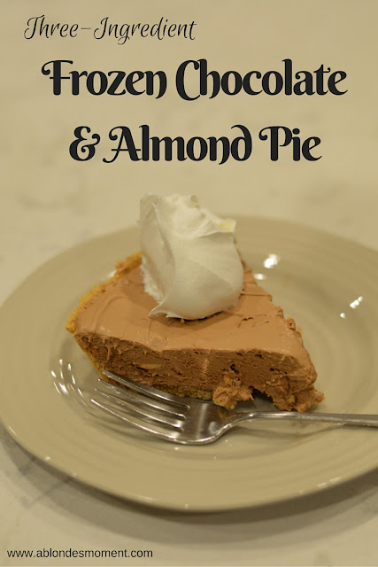 three-ingredient-chocolate-almond-pie