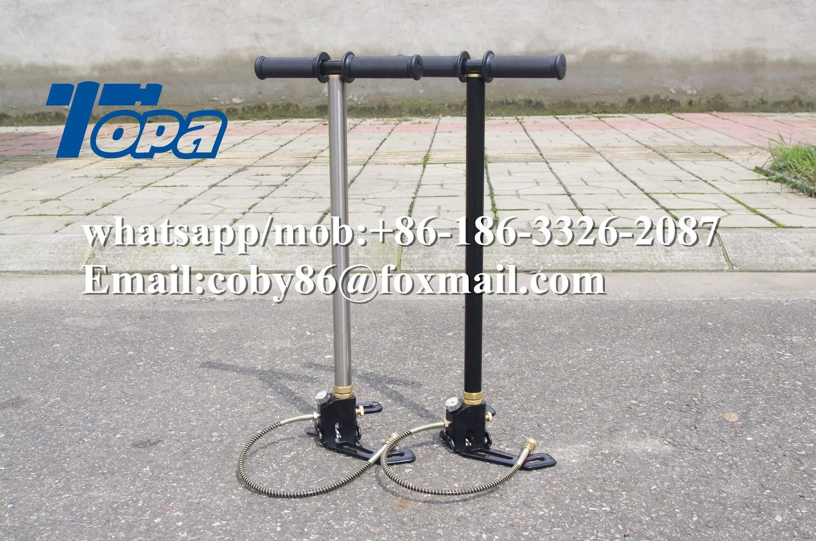 300 bar 4500psi PCP hand pump PCP air compressor
