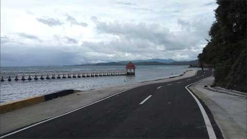 Jalan baru Pantai Salido - Painan