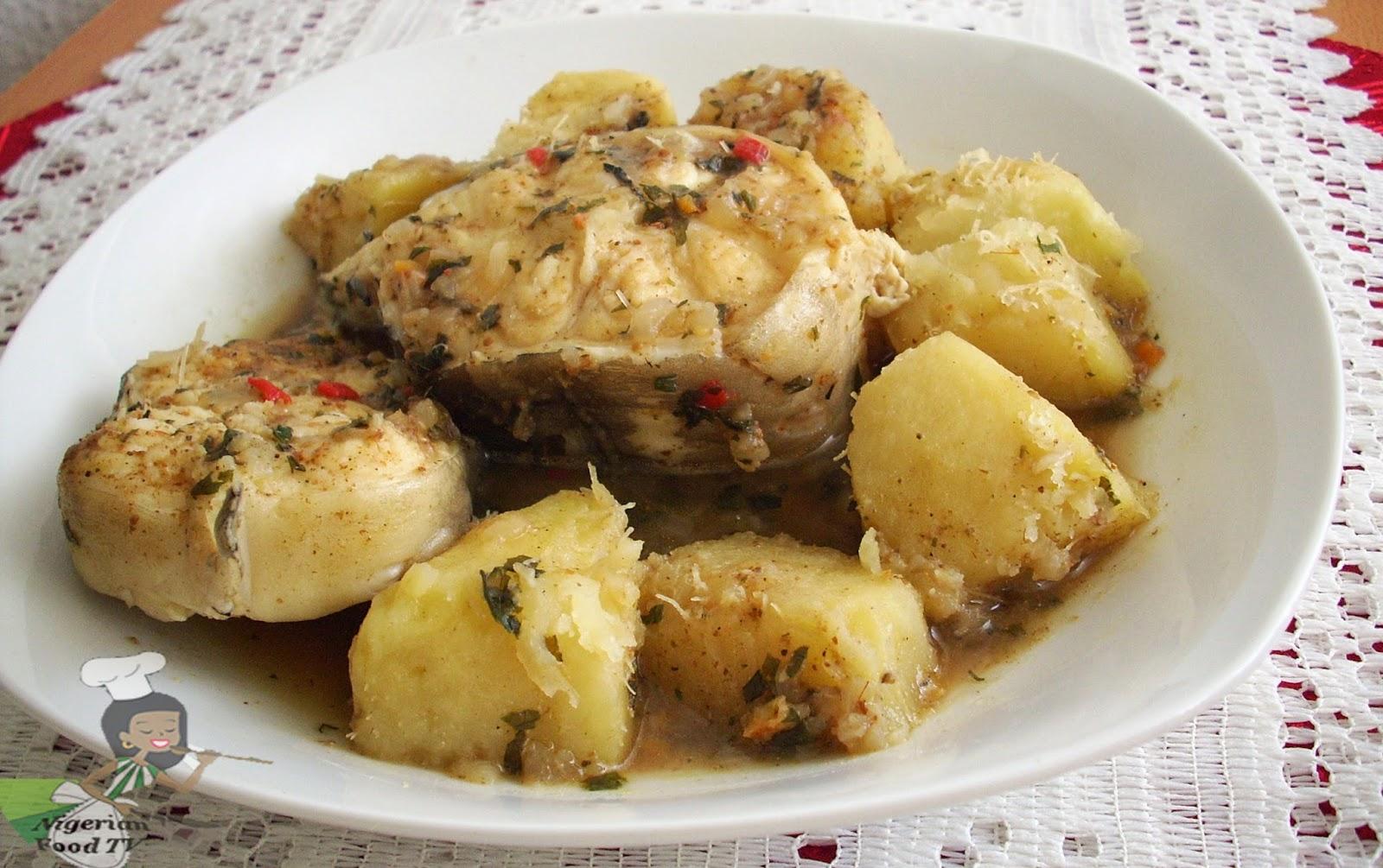 Nigerian Yam and Fresh Fish Pepper Soup