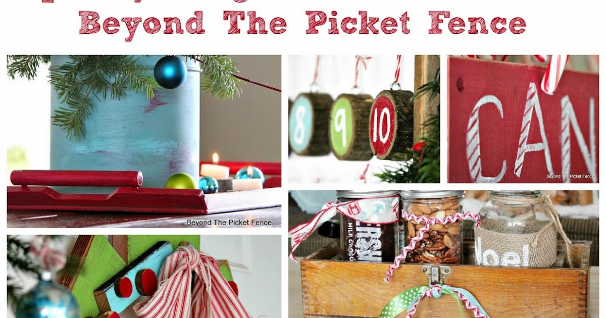 Beyond The Picket Fence 12 Days Of Christmas Round Up