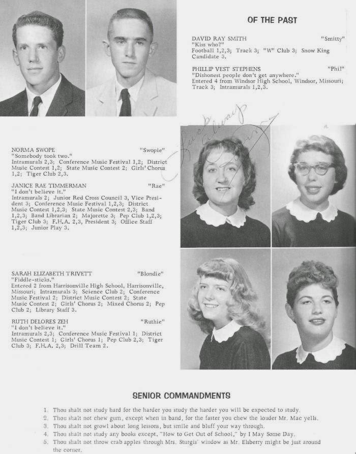 SHOW ME - Johnson County - Western Missouri History: 1959 WHS Arrow
