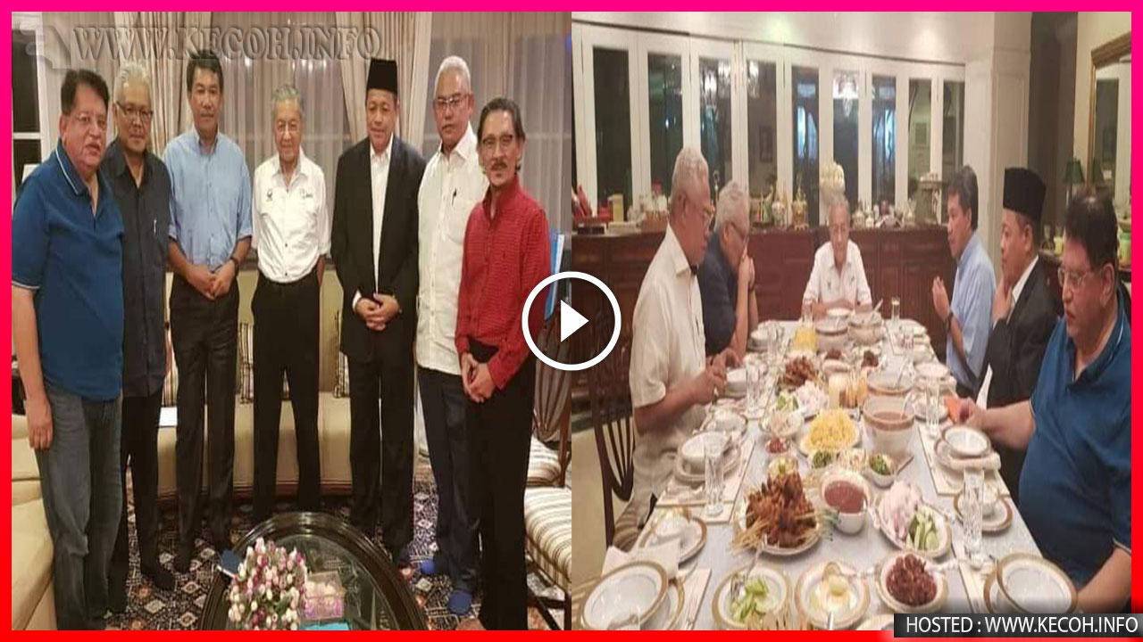 Lagi Pemimpin UMNO Jumpa Tun M Timbulkan Spekulasi Bahawa Umno Bakal Bubar?