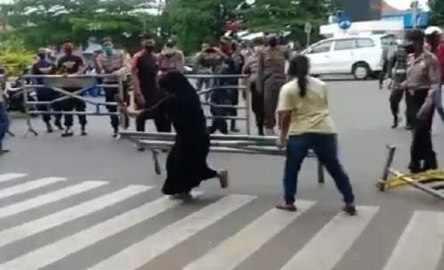 Viral Video Penolakan PSBB di Pasar Payakumbuh, Polisi: Ada Miskomunikasi