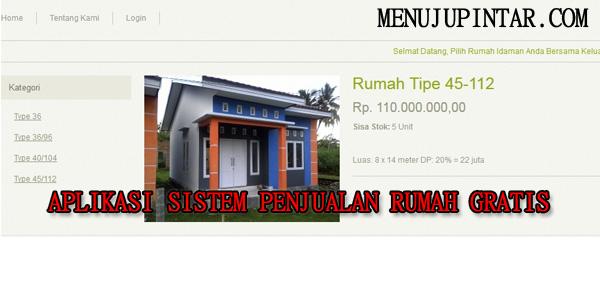 Aplikasi Sistem Penjualan Rumah Gratis