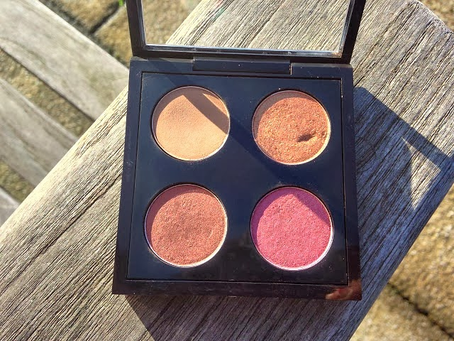 Fashstyleliv Mac Eyeshadow Palette Quad Feat Cork Amber Lights