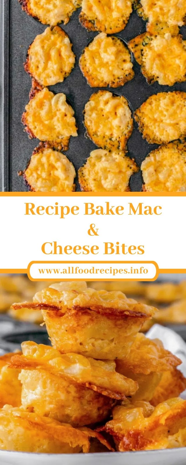 Recipe Bake Mac & Cheese Bites