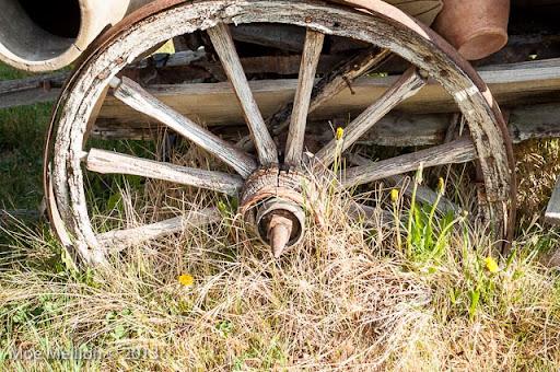 Moe and Irene's RTW blog: Old Wagon Wheels in Cappadocia