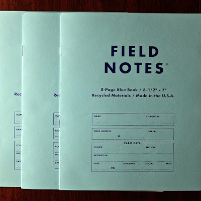 Blue Books: photo by Cliff Hutson