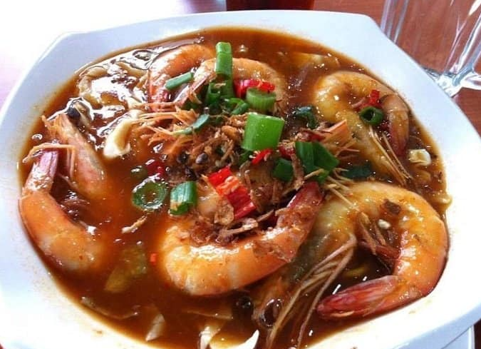 Resipi Mee Rebus Udang