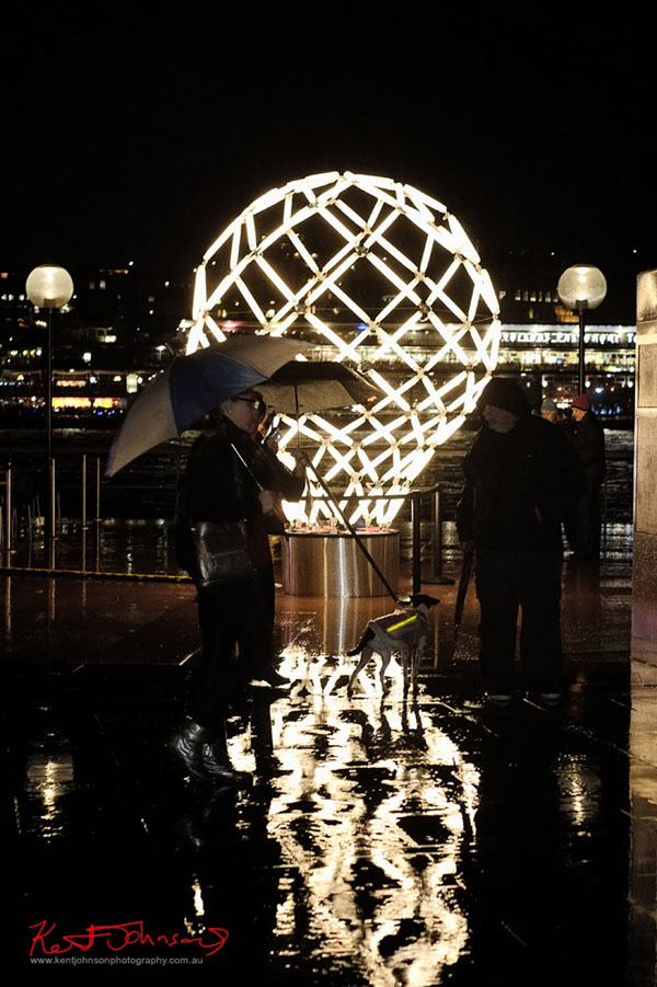 The 'light bulb' sculpture, Vivid Sydney 2013 - Fujifilm X-Pro1, XF35mmF1.4 R.