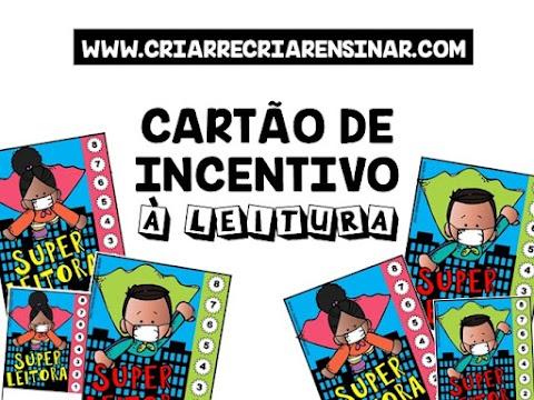CARTÃO DE INCENTIVO À LEITURA
