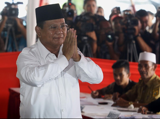 Tepis Stagnan, Timses: Elektabilitas Prabowo Naik di Survei Internal
