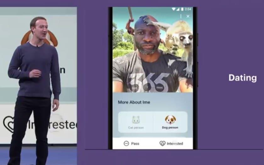 فايسبوك ستطلق منصة تعارف ومواعدة لمنافسة Tinder