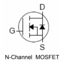 n-channel موسفت