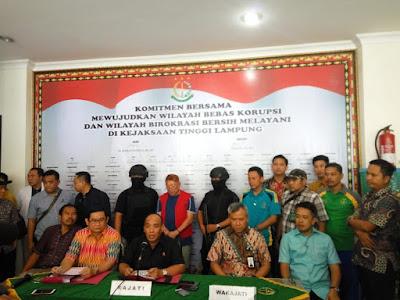 Kerjasama Kejaksaan dan KPK Berbuah Tertangkapnya Sugiarto Wiharjo alias Alay