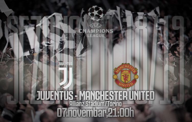 Liga prvaka 2018/19 / 4. kolo / Juventus - Man. Utd., srijeda, 21h