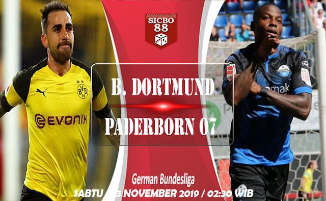 Prediksi B. Dortmund vs Paderborn 07, 23 November 2019–02:30