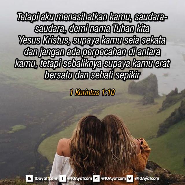 1 Korintus 1:10