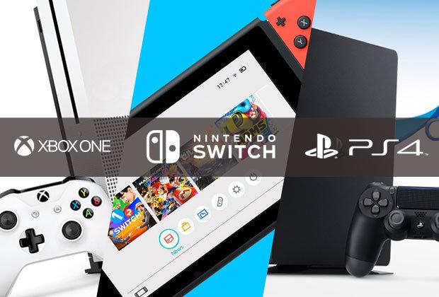 SORTEIO: GANHE Um: PS4, XBOX ONE e NINTENDO SWITCH Você escolhe!