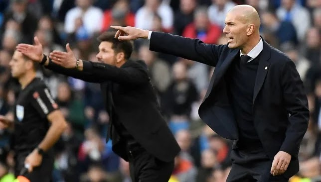 Zidane proves his terrifying development and resolves the derby in the runners-up