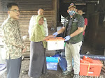 BPBD, Dinsos dan Baznas Pasbar Juga Turut Membantu Ibu Yultati