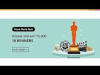 Amazon Movie Mania Quiz Answers 19-Feb-2021