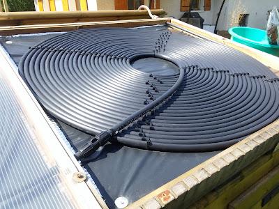 L g re am lioration du panneau chauffe eau solaire pour piscine - Chauffe eau solaire pour piscine ...