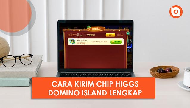 cara kirim chip higgs domino