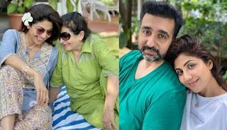 शिल्पा शेट्टी ने शेयर किया मजेदार वीडियो, सास संग करती दिखीं पति राज कुंद्रा की गॉसिप