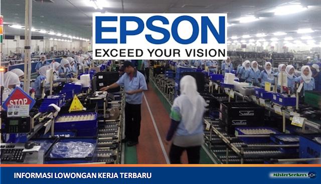 Lowongan Kerja PT. Epson Batam (Electronic Manufacturing Company)
