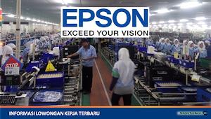 Lowongan Kerja PT. Epson Batam (Perusahaan Manufaktur Elektronik)